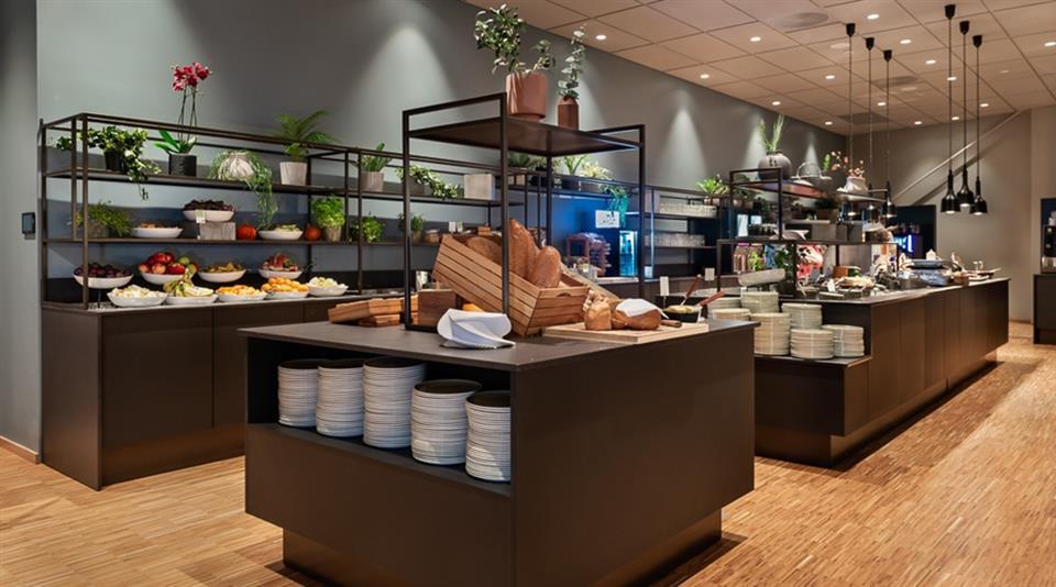Quality Hotel River Station Frukost