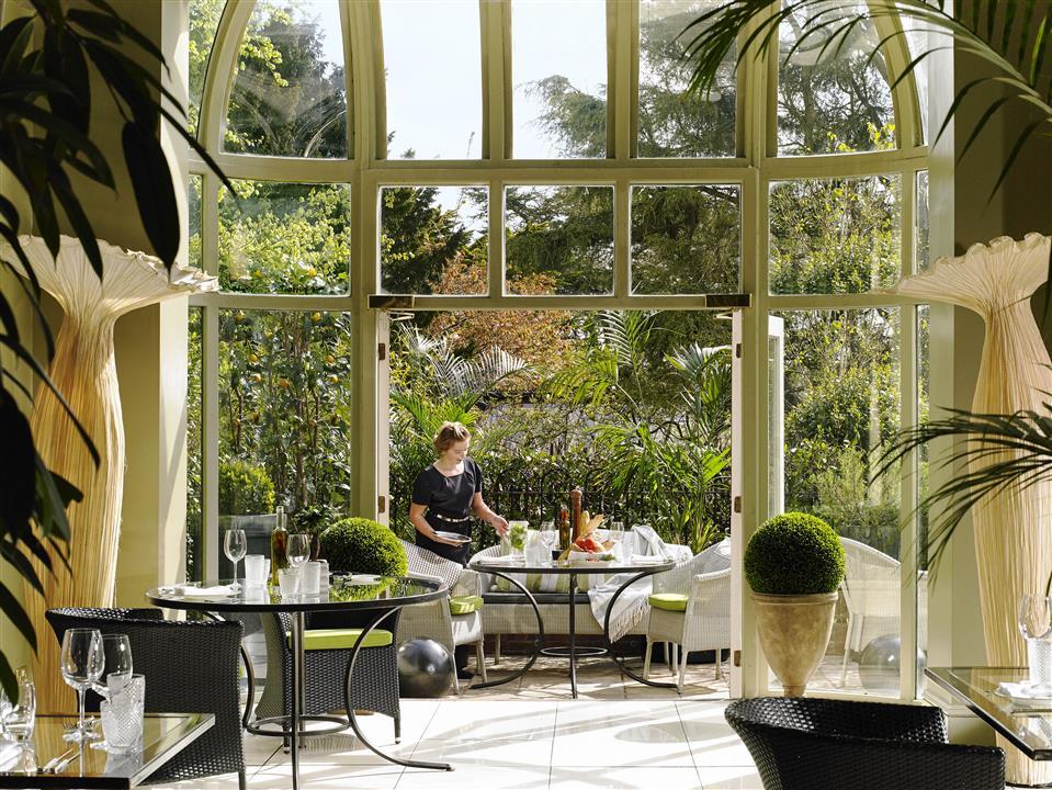 Perrotts Garden Bistro at Hayfield Manor
