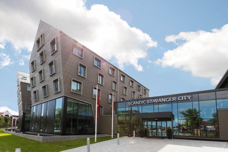 Scandic Stavanger City Fasad