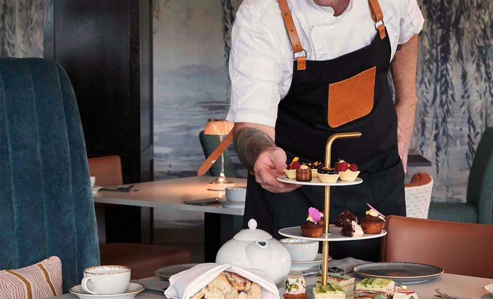 Hotell Klubben Afternoon Tea