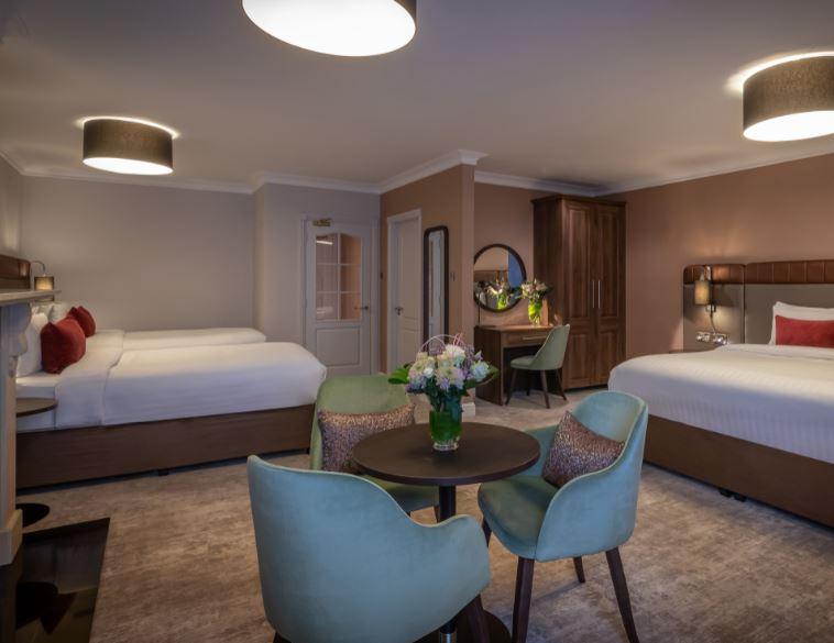 The Kingsley Hotel Family Bedroom