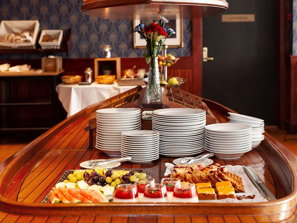 Grand Hotel Arendal Frukost