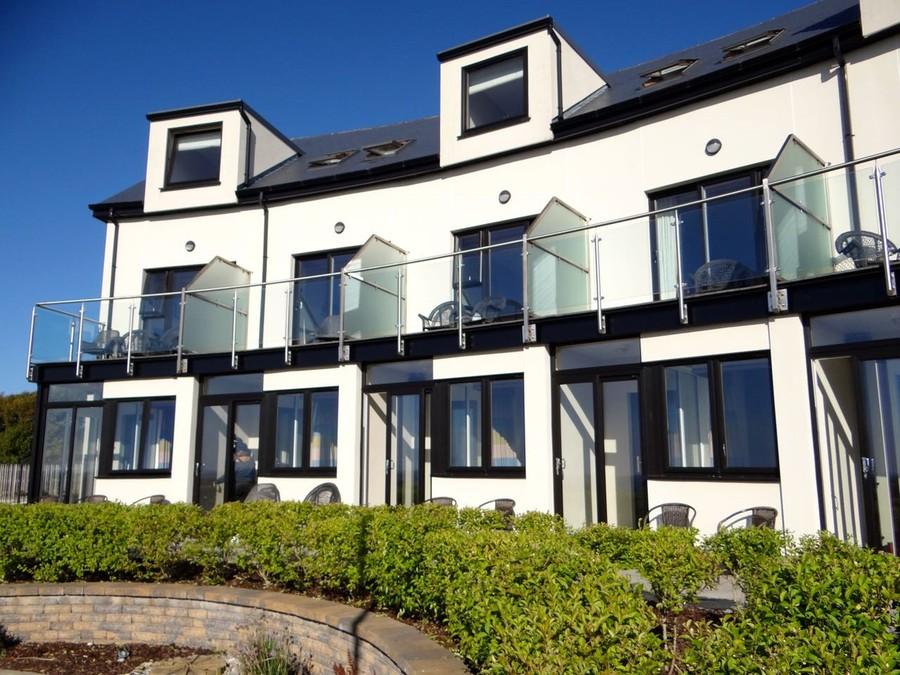 Strandhill Lodge balconies