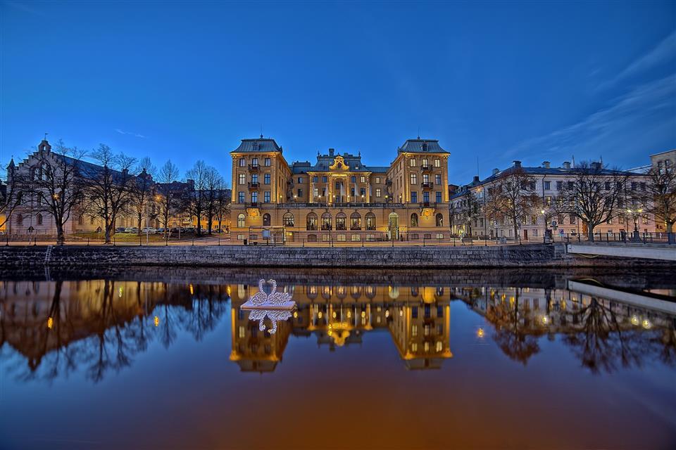 Elite Grand Hotel Gävle Fasad