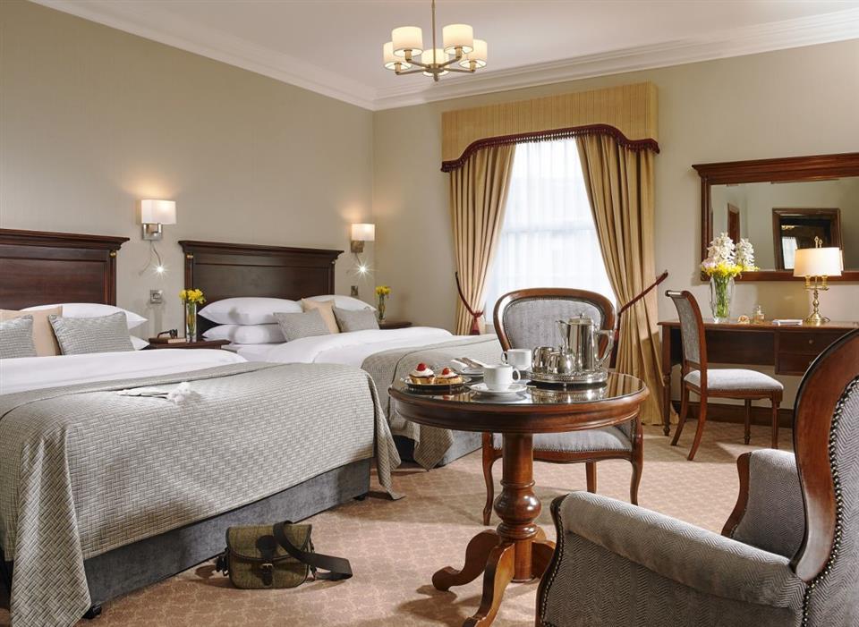 Killashea Hotel Bedroom