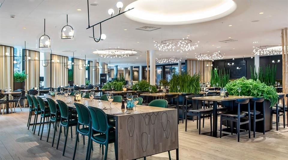 Quality Airport Hotel Gardermoen Restaurang