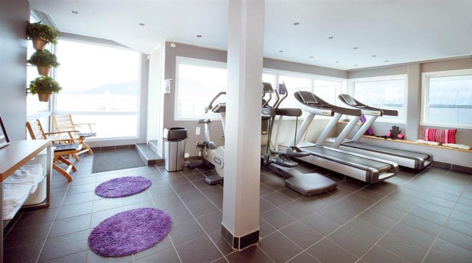 Clarion Collection Hotel Aurora Gym
