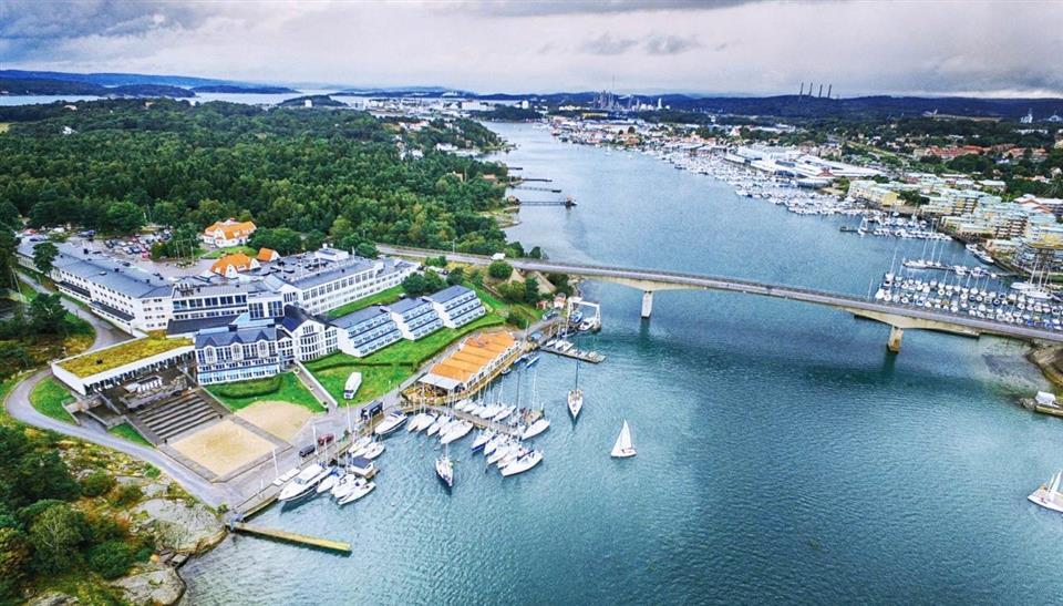 Stenungsbaden Yacht Club Fasad