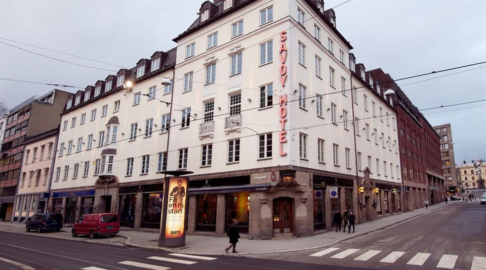 Clarion Collection Hotel Savoy Facade