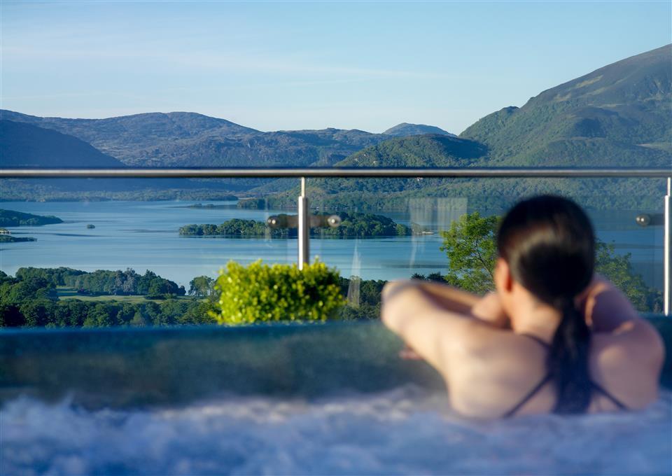Aghadoe Heights Hotel hot tub