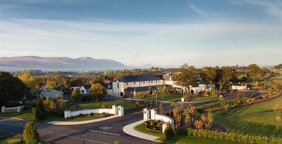 Ballygarry  House Hotel ariel view