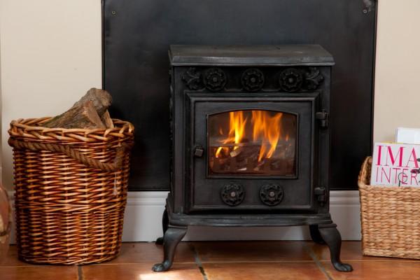 Abhainn Ri Cottages stove