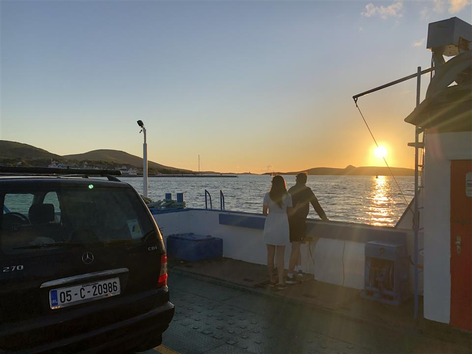 Ferry arrival to Valentia Island