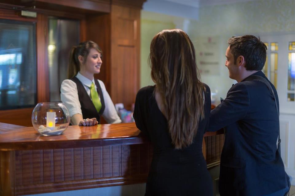 Ballyliffin Hotel Reception