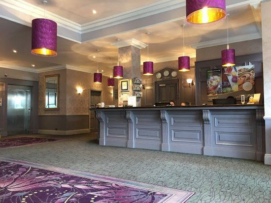 Maldron Hotel Galway Reception