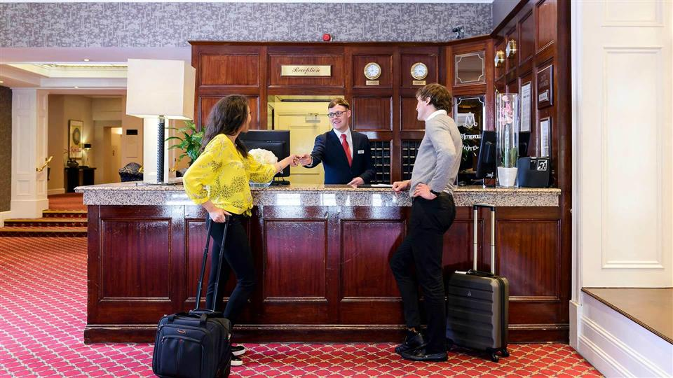 The Metropole Hotel Reception
