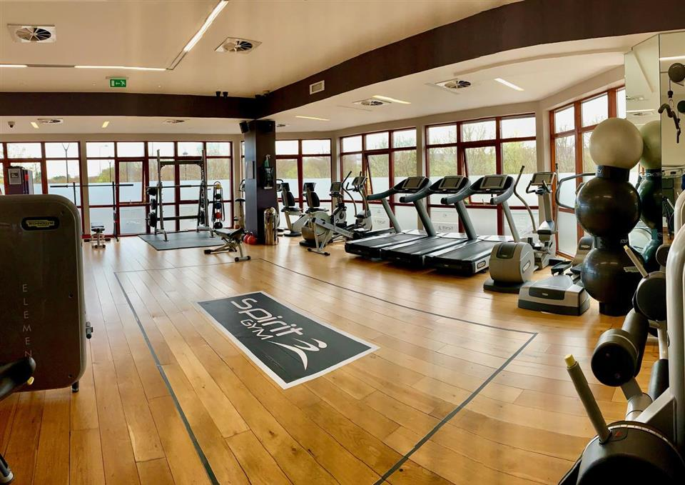 The Rose Hotel & Spa Gym