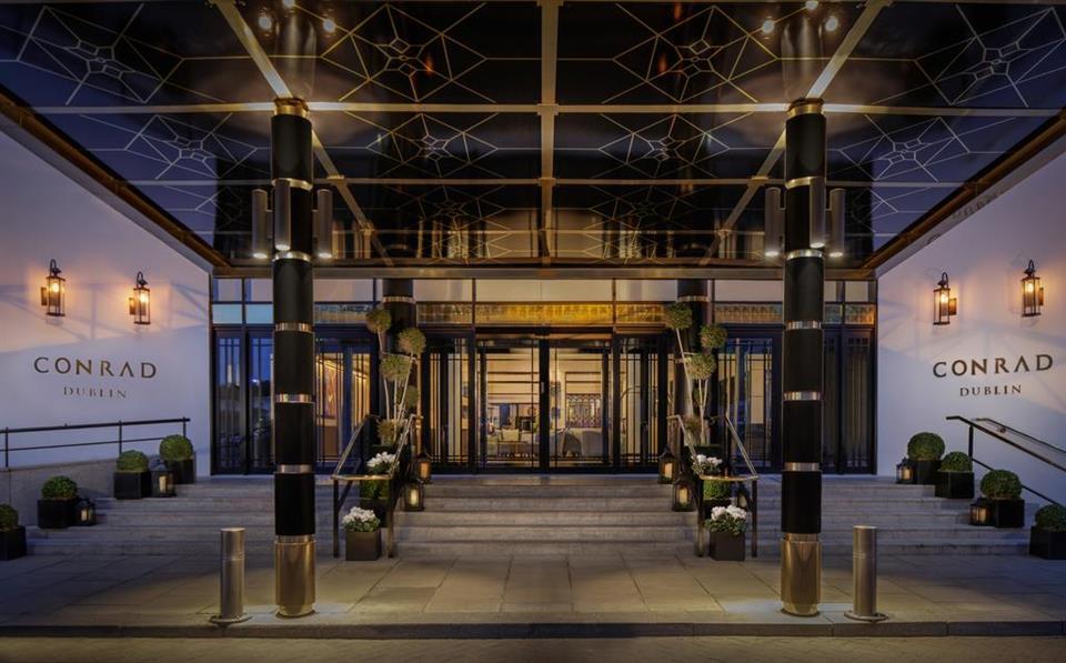 Conrad Hotel Entrance