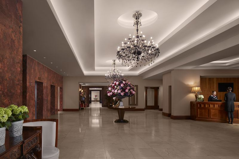 Salthill Hotel Reception Lobby