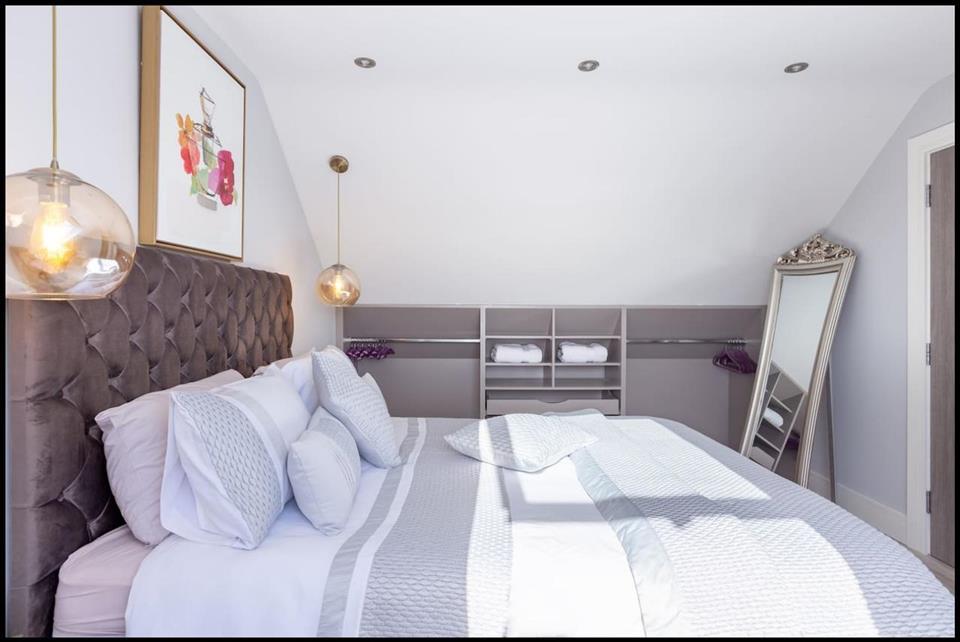 Firestation House bedroom