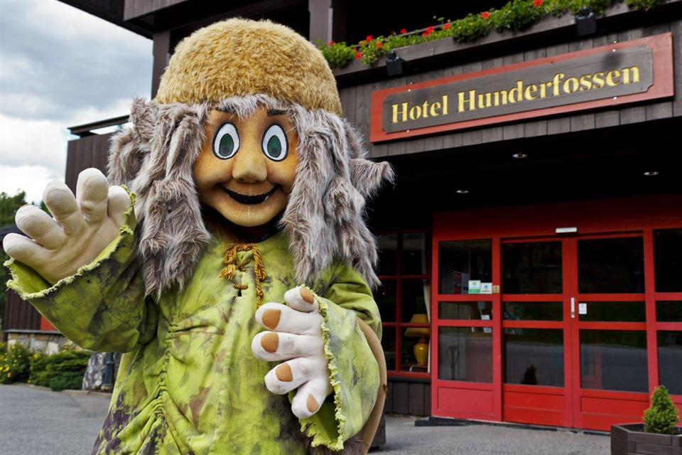 Hunderfossen Hotell & Resort Entré