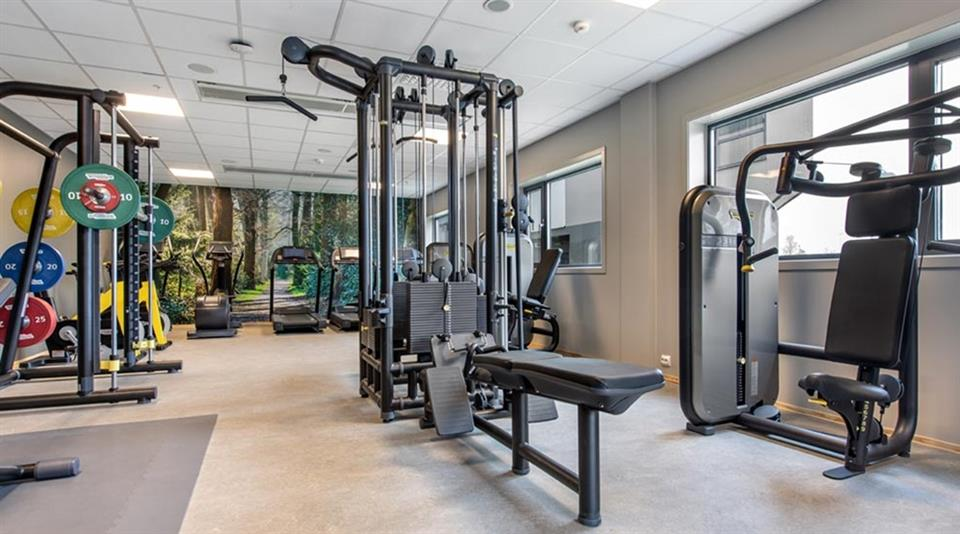 Quality Airport Hotel Gardermoen Gym