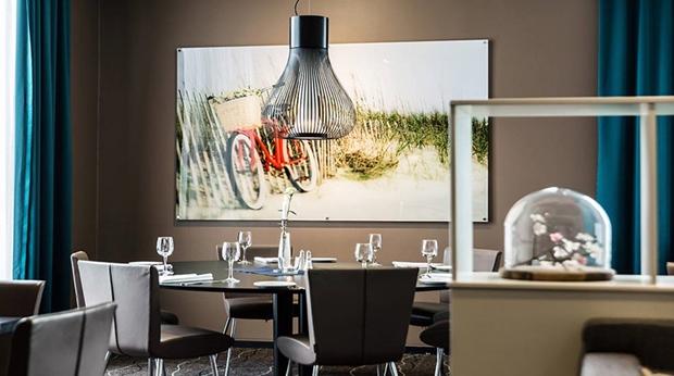 Quality Airport Hotel Værnes Konst i restaurangen