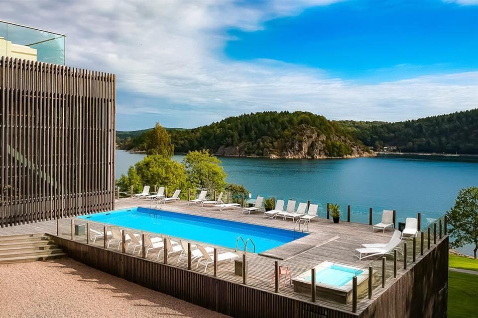 Vann Spa Hotel och Konferens Utomhuspool
