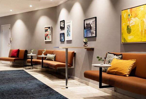 Elite Hotel Stockholm Plaza Lobby