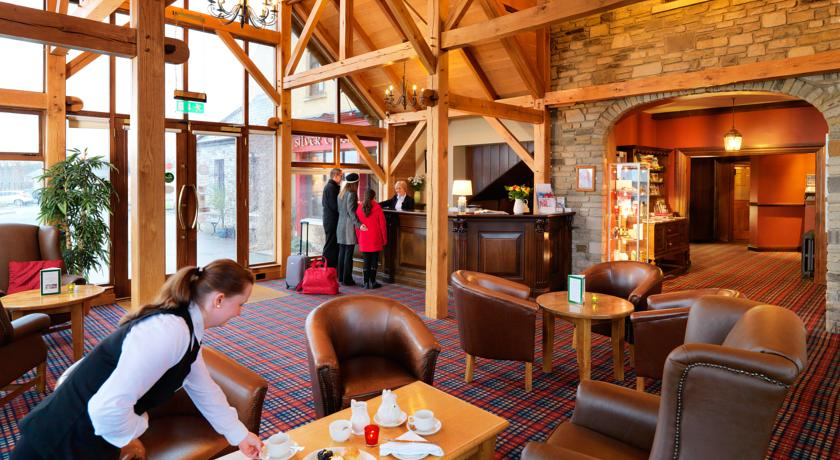 Silver Tassie Hotel & Spa Reception