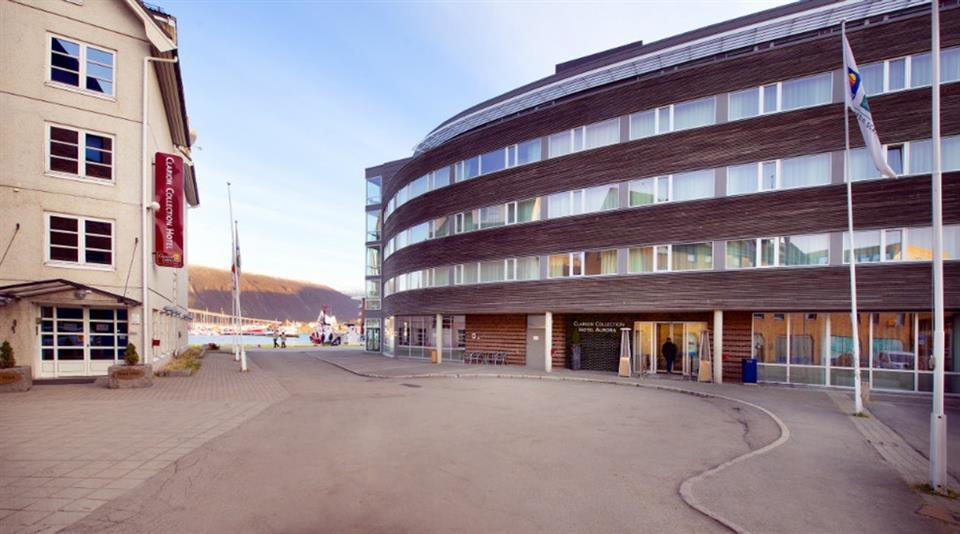 Clarion Collection Hotel Aurora Facade