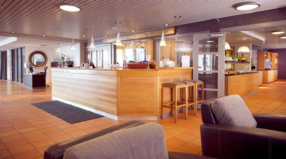 Clarion Collection Hotel Tollboden Reception