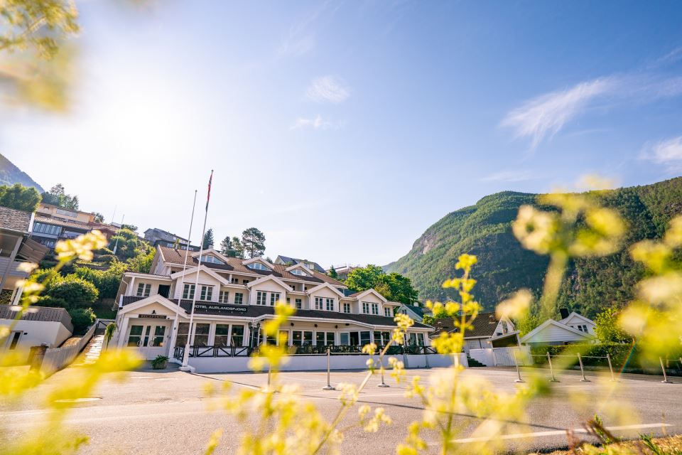 Hotel Aurlandsfjord Fasad