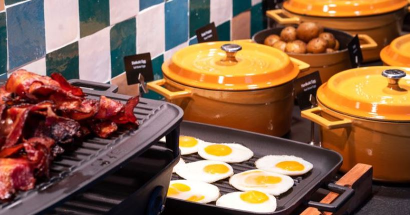 Thon Hotel Gyldenløve Frukost