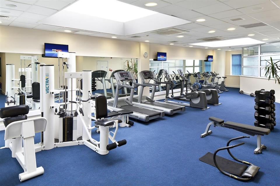 The Address Hotel Gym