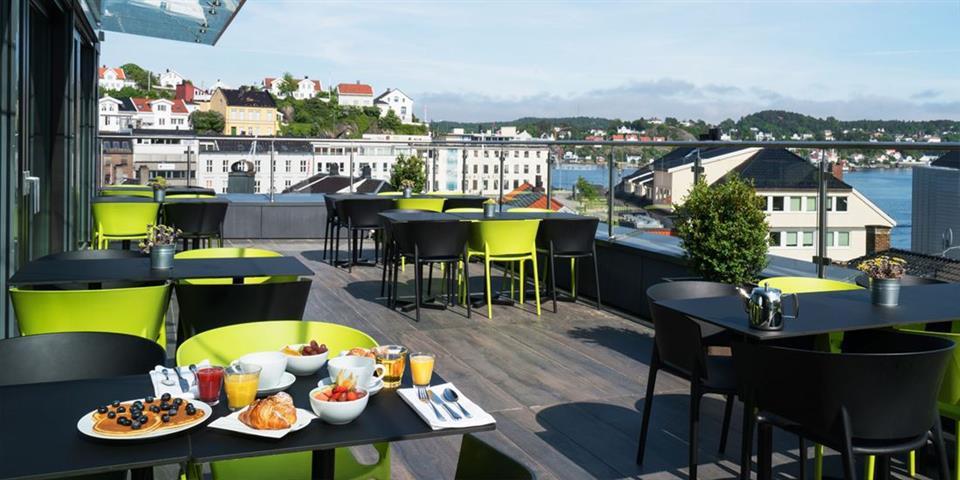 Thon Hotel Arendal Takterrass
