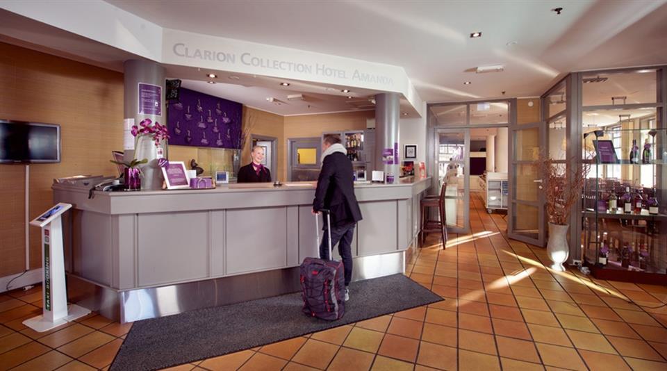 Clarion Collection Hotel Amanda Reception