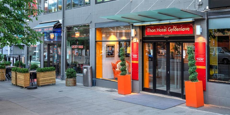 Thon Hotel Gyldenløve Fasad