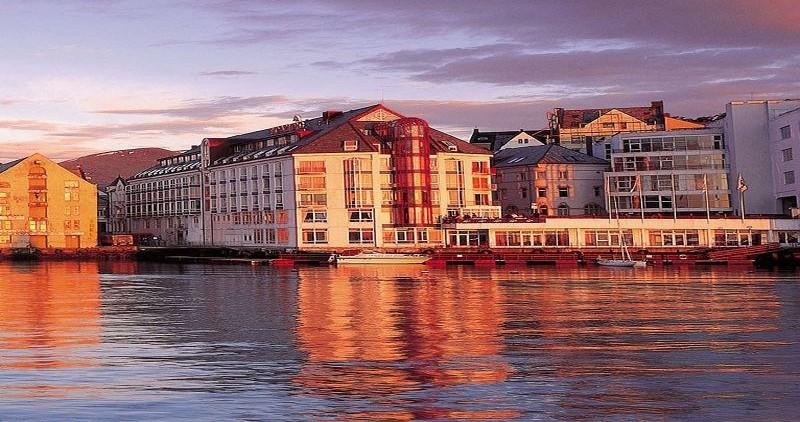 Thon Hotel Ålesund Fasad