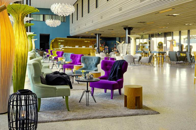 Scandic Fornebu Lobby