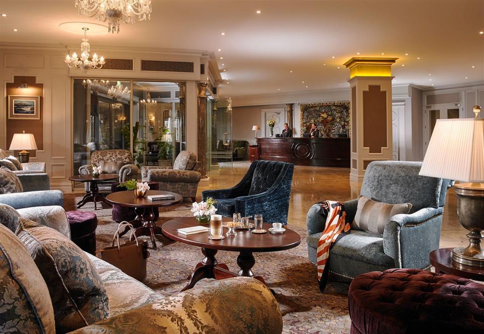 The Rose Hotel & Spa Lobby
