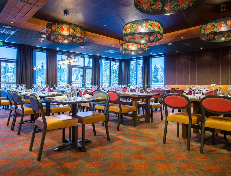 Radisson Blu Mountain Resort & Residences Restaurang
