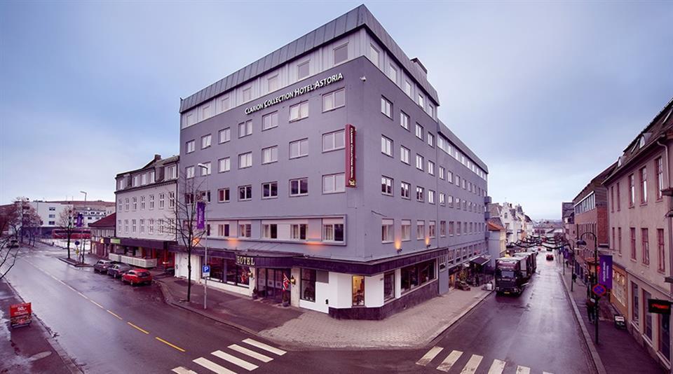 Clarion Collection Hotel Astoria Fasad