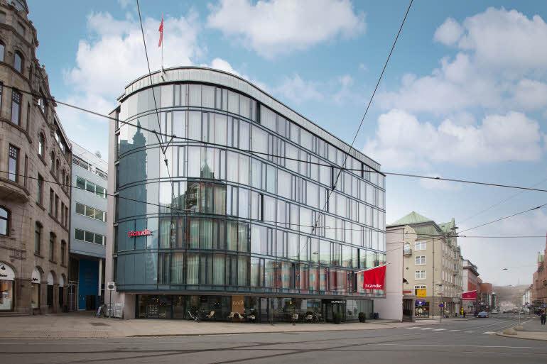 Scandic Grensen Fasad