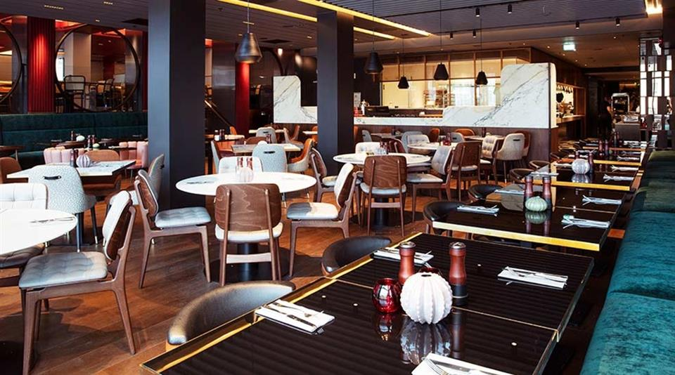Clarion Hotel The Hub Frukostmatsal