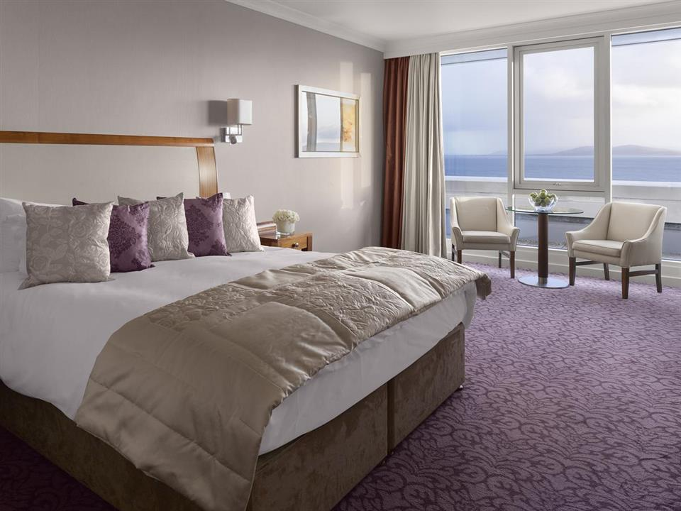 Salthill hotel bedroom