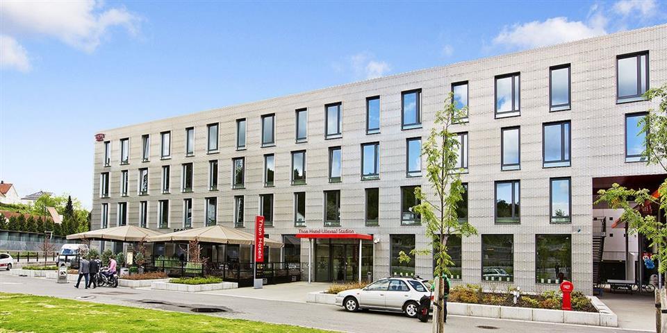 Thon Hotel Ullevaal Stadion Fasad