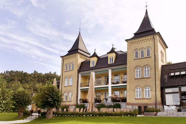 Hotell Refsnes Gods Fasad