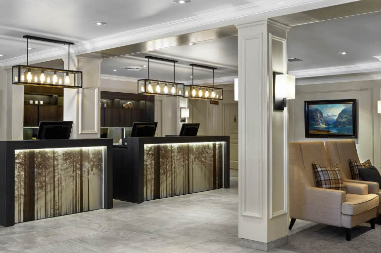 Scandic Lillehammer Hotel Reception