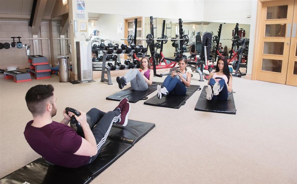 Castlerosse Park Resort gym